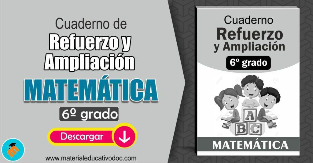 Refuerzo y Ampliación Matemática 6º