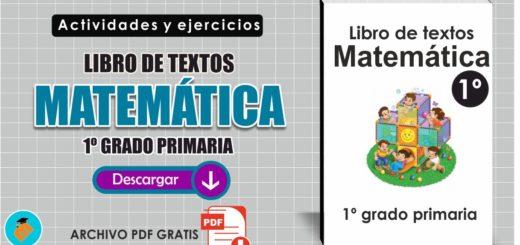 Libro de textos Matemáticas 1º