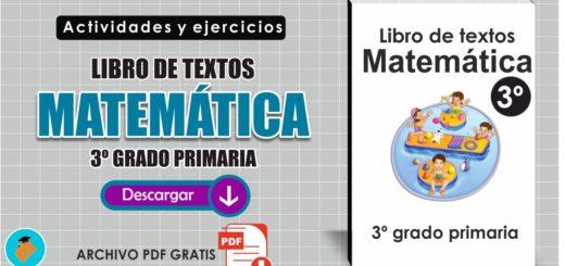 Libro de textos Matemáticas 3º