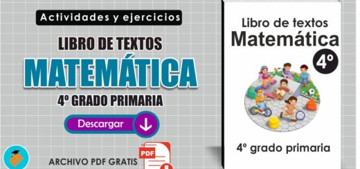 Libro de textos Matemáticas 4º