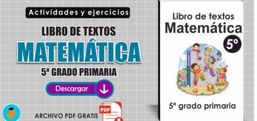 Libro de textos Matemáticas 5º