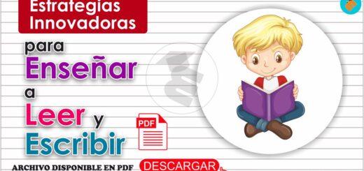 enseñar a Leer y Escribir