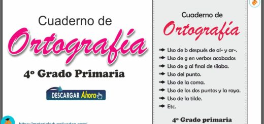 Cuaderno de Ortografía Lengua Castellana