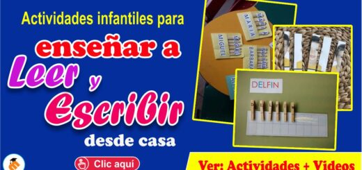 Actividades Infantiles de Lectoescritura