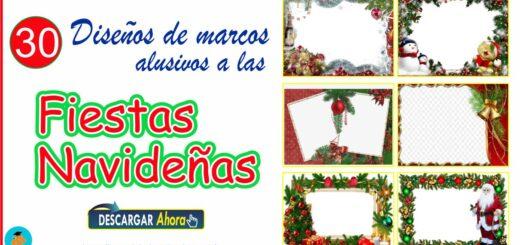 30 Marcos navideños imágenes