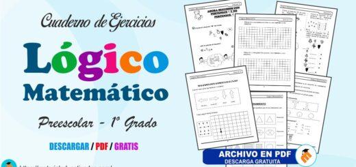 Lógico Matemático cuaderno de ejercicios