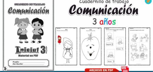 Cuadernillo de Comunicación para preescolar