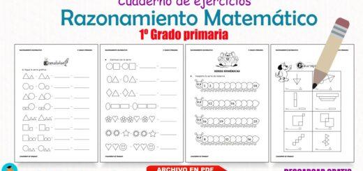 Cuaderno de Razonamiento Matemático 1º