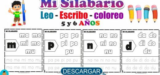 Fichas de mi Silabario