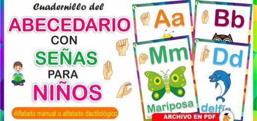 Cuadernillo del Alfabeto con señas