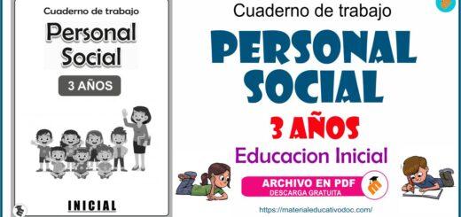 Personal Social cuaderno de trabajo