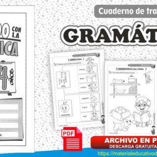 Cuaderno de trabajo de Gramática