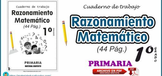 Razonamiento Matemático cuaderno de trabajo
