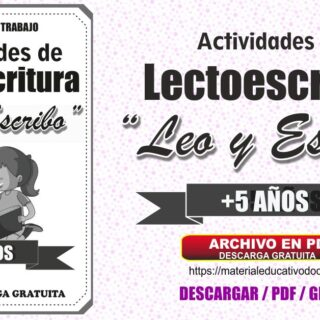Cuadernillo de Actividades Lectoescritura Leo