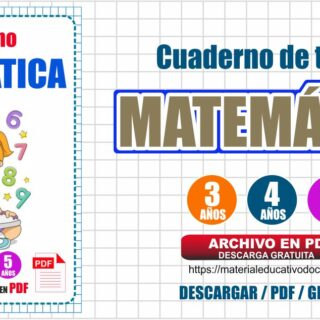 Cuadernillo de Matemática para niños