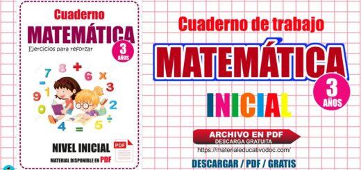 Cuaderno de Matemática para niños